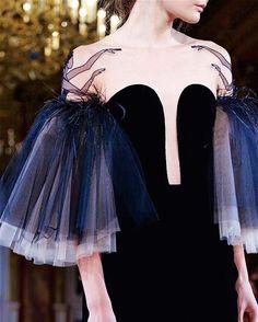 "runwayandbeauty: "" Ballerina Details: Yanina Couture Spring 2016. """