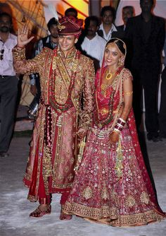 Indian wedding costumes Bollywood celebrities