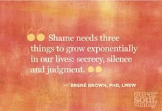 From Brené Brown's b