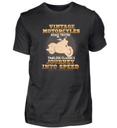Vintage Motorcycles - Motorrad T-Shirt