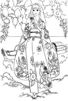 Barbie Coloring Pages, Cute Coloring Pages, Disney Coloring Pages, Coloring Pages For Kids, Coloring Sheets, Adult Coloring, Coloring Books, Barbie 90s, Colorful Pictures