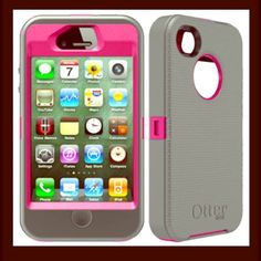 Otter box for iPhone 4/4s Great condition. Hardly used. OtterBox Accessories Phone Cases