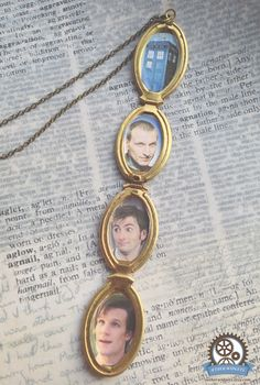 THE DOCTORS LOCKET doctor who bbc steampunk geek nerd locket necklace. $40.00, via Etsy.// Love of lockets, meet the love of the Doctor...