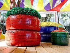 decoração-com-pneus-1