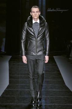 0a262789c4b Look 15 Salvatore Ferragamo Men s AW Collection 2012-2013 High Fashion Men,  Leather Fashion