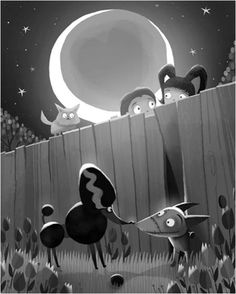 'Frankenweenie'-Inspired Artwork by Joey Chou Featuring Young Love to Debut at Disney California Adventure Park