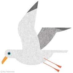Seagull by Ryo Takemasa | Hamburg - Lieblingsorte on Behance
