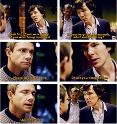 The moment when Sherlock realizes that John nearly died in Afghanistan