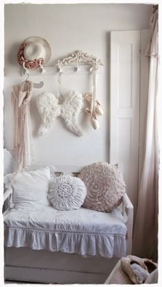 Shabby Landhaus: Der Rest vom Schlafzimmer........