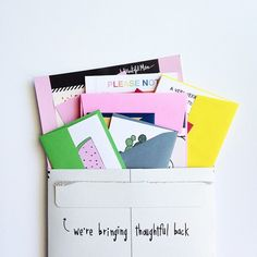 Fun to see your Happy Mail arriving! Tag em here ----> #ABMhappymail : @catsaunders