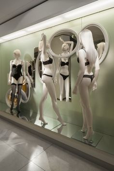 De Bijenkorf Eye On Fashion windows by StudioXAG, Netherlands