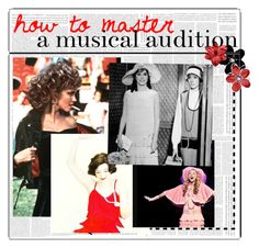 """""""&& how to master a musical audition"""" by harknessl on Polyvore featuring modern, women's clothing, women, female, woman, misses, juniors and Laurenstip"""