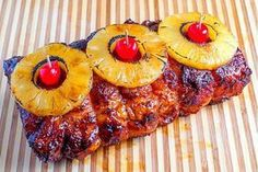 Lomo de cerdo en salsa de piña