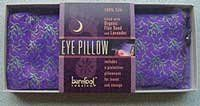 Barefoot Silk Eye Pillows - Indian Sari Designs with Flax Seed & Lavender
