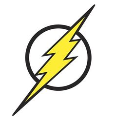 Images of Flash Symbol & Logo Giant Wall Decal