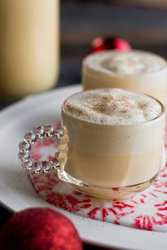 Homemade Eggnog (Spiked or Not) - Wholefully