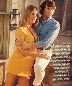 y su marido Roman Polanski Hollywood Actresses, In Hollywood, Actors & Actresses, Sharon Tate, An Affair To Remember, Charles Manson, Roman Polanski, Vogue, Celebs