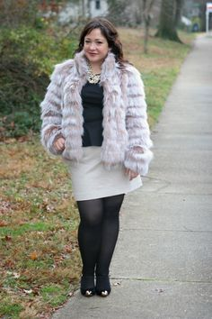 Wardrobe Oxygen: Betsey Johnson faux fur