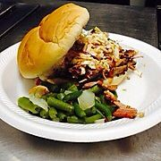 Pulled Pork with Southern Green Beans