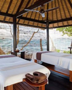 Spa Alila offers traditional Balinese massages in unique, alfresco treatment rooms. #Jetsetter #JSSpa