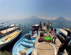 GoPro Hero Photography Tips | Santa Cruz Dock at Lake Atitlan