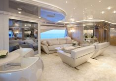 Benetti '194 Lady Lara- Main Deck - Luxurious Yacht