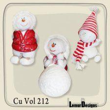CU Vol. 212 Snowman Winter by Lemur Designs cudigitals.com cu commercial scrap scrapbook digital graphics#digitalscrapbooking #photoshop #digiscrap #scrapbooking