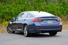 Last week, I was finally able to spend an entire seven days with the 420-horsepower 5.0-liter V-8 rear-wheel-drive version of the 2015 Genesis. My expectations were so high when the sedan arrived, I figured I could only be let down. To the contrary, my week with the car proved that initial impressions were spot on. - Chris Brewer
