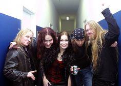 Nightwish - Emppu - Tuomas - Tarja - Jukka - Marco
