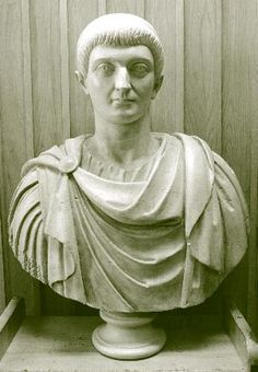 This is the Roman Emperor Constantine. He is considered the second most influential man in history. In 315 Rome was in civil war and Constantine was on the losing side with a broken army, fighting his last battle at Milvian Bridge. He turned to Christianity to fire up his troops and it worked -- their fervor made up for their weak numbers and he won, seizing all of falling Rome. He made Christianity the official religion and outlined the current Catholic mass. He altered the course of the…