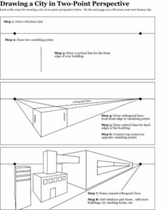 perspective tutorials and assessments | Worksheets/ Printables ...