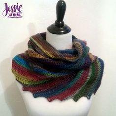 Skylark Scarf - Free Crochet Pattern