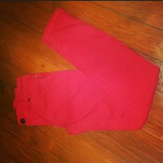 Lauran Conrad Red Skinny Jeans Few cute distressed rips by the pockets, which gives them some cute details. Lauren Conrad  Jeans Skinny