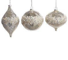 Ornament Mercury Glass by Bauble Creations
