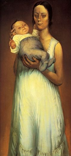 Mother and Child by Otto Dix (German 1891-1969).....date?