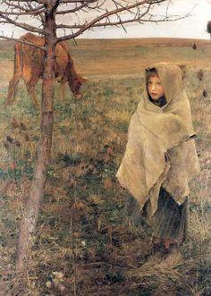 Cowherd - Jules Bastien-Lepage (1848-84)