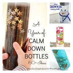 calm down bottles prek kindergarten