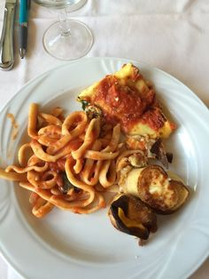Da Costantino - Positano, Salerno, Italy. Chef's tasting menu is only 28 euros and includes caprese salad, assorted pizzas, assorted pastas/dishes, wine and limoncello.