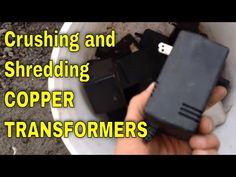 Scrap Recycling, How To Clean Copper, Scrap Metal Art, New Tricks, Copper Wire, Precious Metals, Transformers, Metal Working, Cleaning Copper