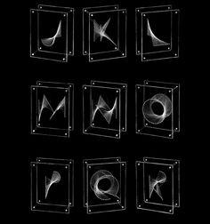 Heterosis - A Kinetic Typeface by Brian Banton