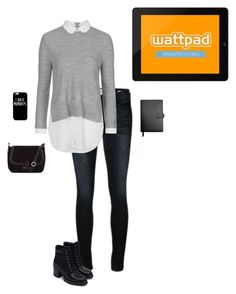 """""""Weekly WattPad Updates!"""" by hanakdudley ❤ liked on Polyvore featuring Frame Denim, Topshop, Zara, Royce Leather, women's clothing, women's fashion, women, female, woman and misses"""