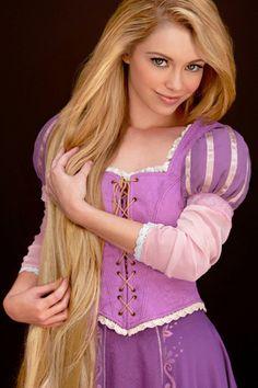 Real life Rapunzel
