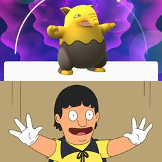 I knew Drowzee looked familiar... #gaming #games #gamer #videogames #videogame #anime #video #Funny #xbox #nintendo #TVGM #surprise
