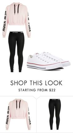 """""""Untitled #1"""" by paytenhernandez ❤ liked on Polyvore featuring Converse"""