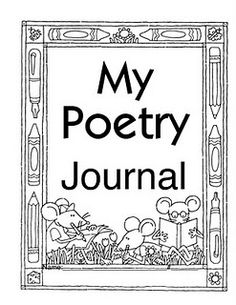 Great poems and ideas for poetry journal
