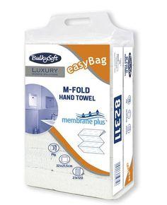 PROMOCJA! Super cena!  Ręcznik papierowy Bulkysoft składany - 4 panelowy, trzywarstwowy to najlepsze rozwiązanie do osób, które szukają niezwykle chłonnych ręczników papierowych - eleganckich, wytrzymałych i wydajnych. Ręcznik papierowy firmy Bulkysoft jest wykonany z czystej, selekcjonowanej, trzywarstwowej  celulozy. Doskonale absorbuje wilgoć, nie roluje się, nie rozrywa, nie pyli i nie pozostawia kawałków mokrego papieru. Jest miły w dotyku, miękki i delikatny a przy tym jest  bardzo…