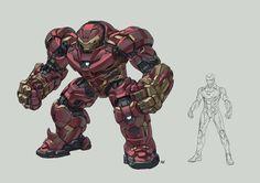 Marvel Concept Art, Marvel Art, Marvel Heroes, Iron Man Hd Wallpaper, Iron Man Hulkbuster, Iron Man Art, Arte Dc Comics, Futuristic Armour, Marvel Comic Universe