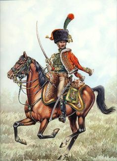 French; Imperial Guard, Chasseurs a Cheval, Officer.