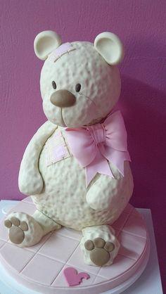 Amigo urso inspirado em Debbie Brown by Carla Machado Cake Designer, via Flickr