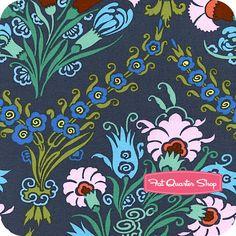 Cameo Ink Josephine's Bouquet Yardage SKU# PWAB094-INKXX